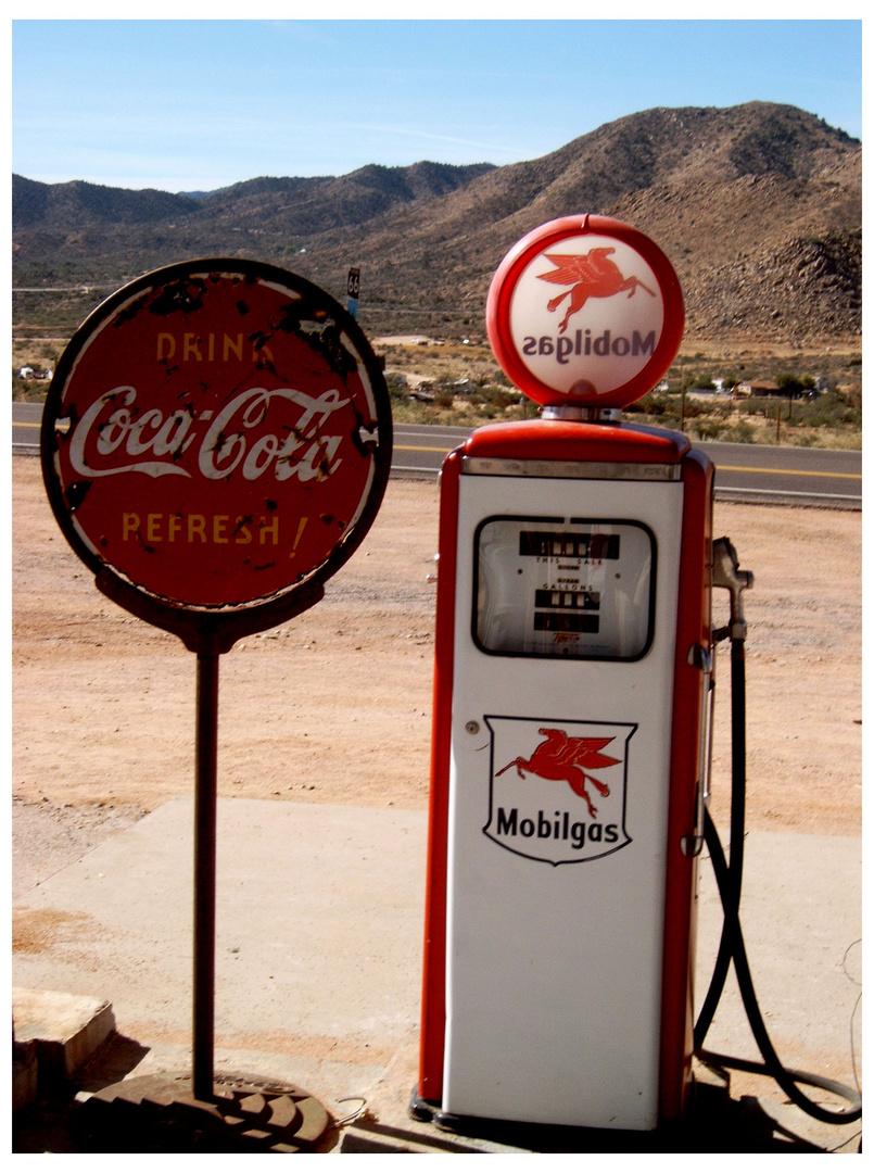 Die letzte Tankstelle vor ...