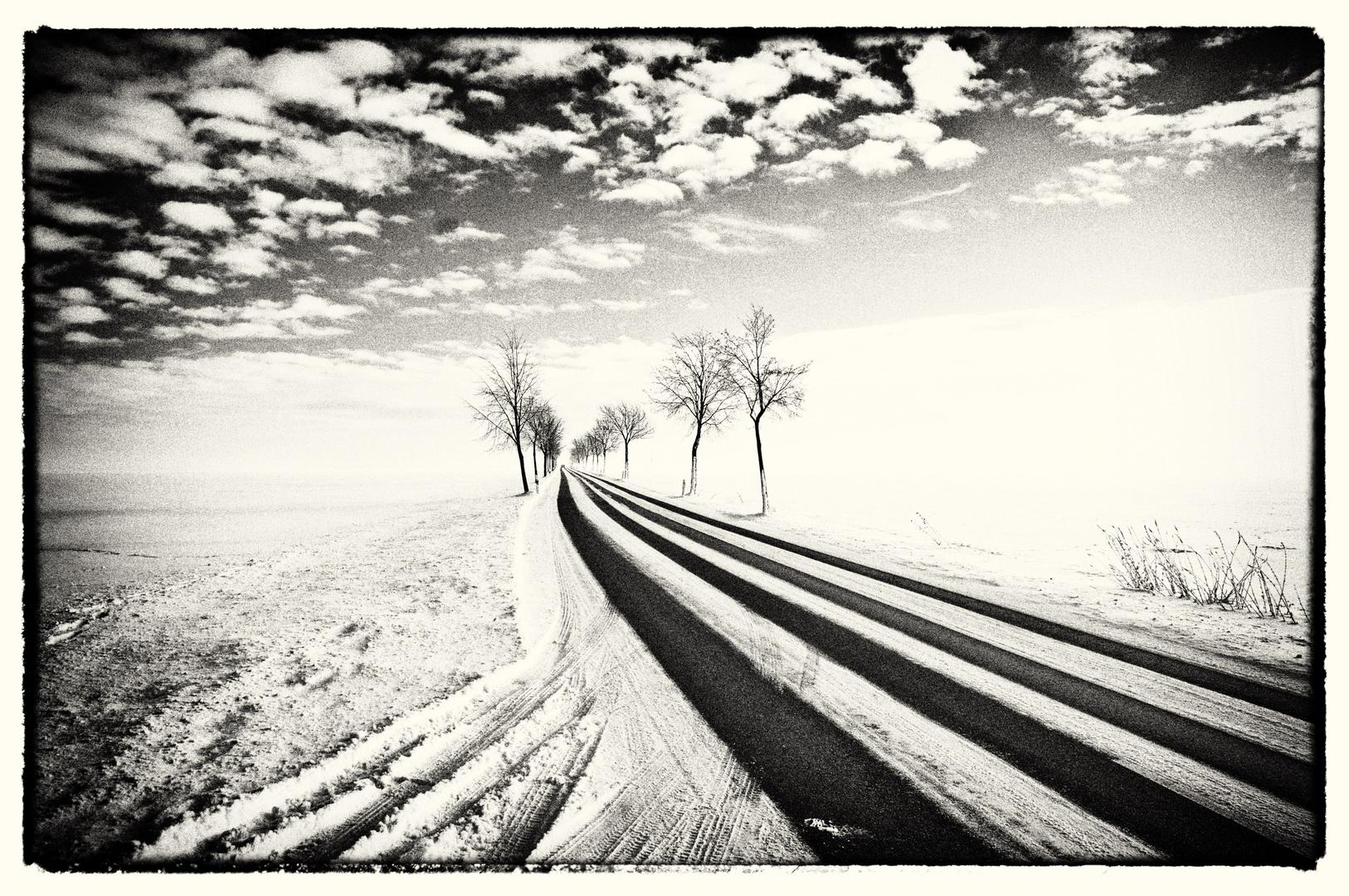 Die letzte Winterlandschaft für dieses Jahr