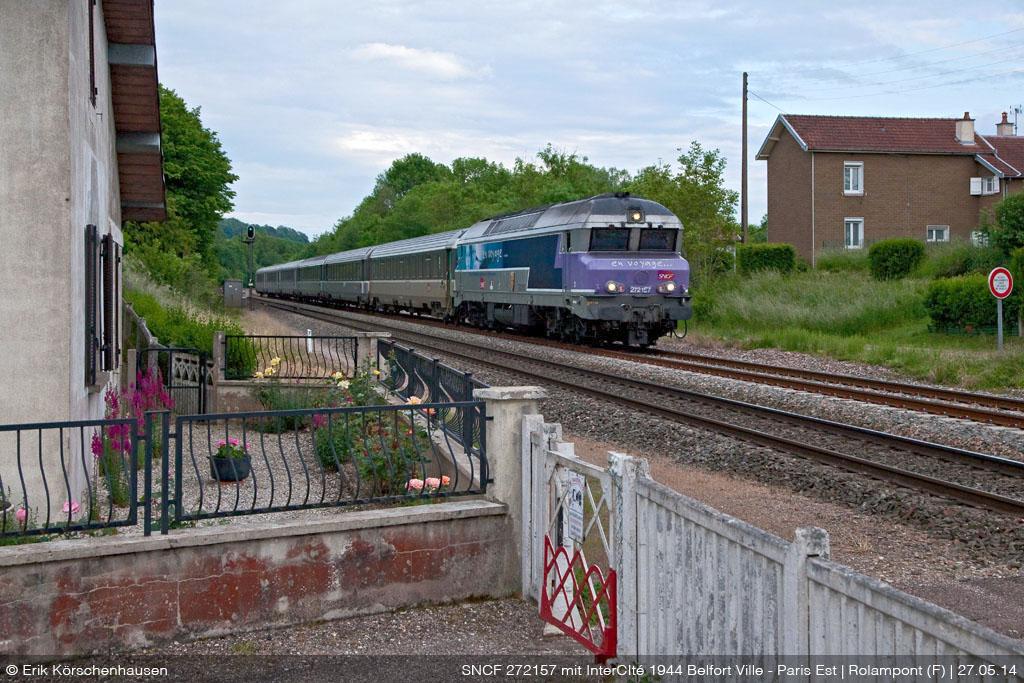 Die letzten Diesel-Saurier Frankreichs