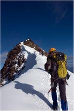 Die letzten Meter bis zum Gipfel - Weissmies 4017 Meter *1*