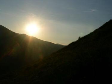 Die letzten Momente eines Sonnentages
