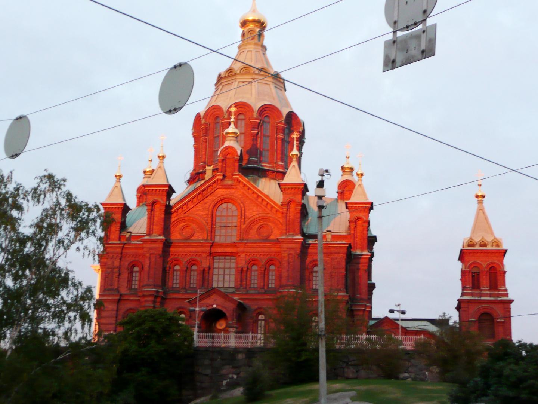 Die letzten Sonnenstrahlen - bye bye Helsinki