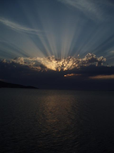 Die letzten Sonnenstrahlen