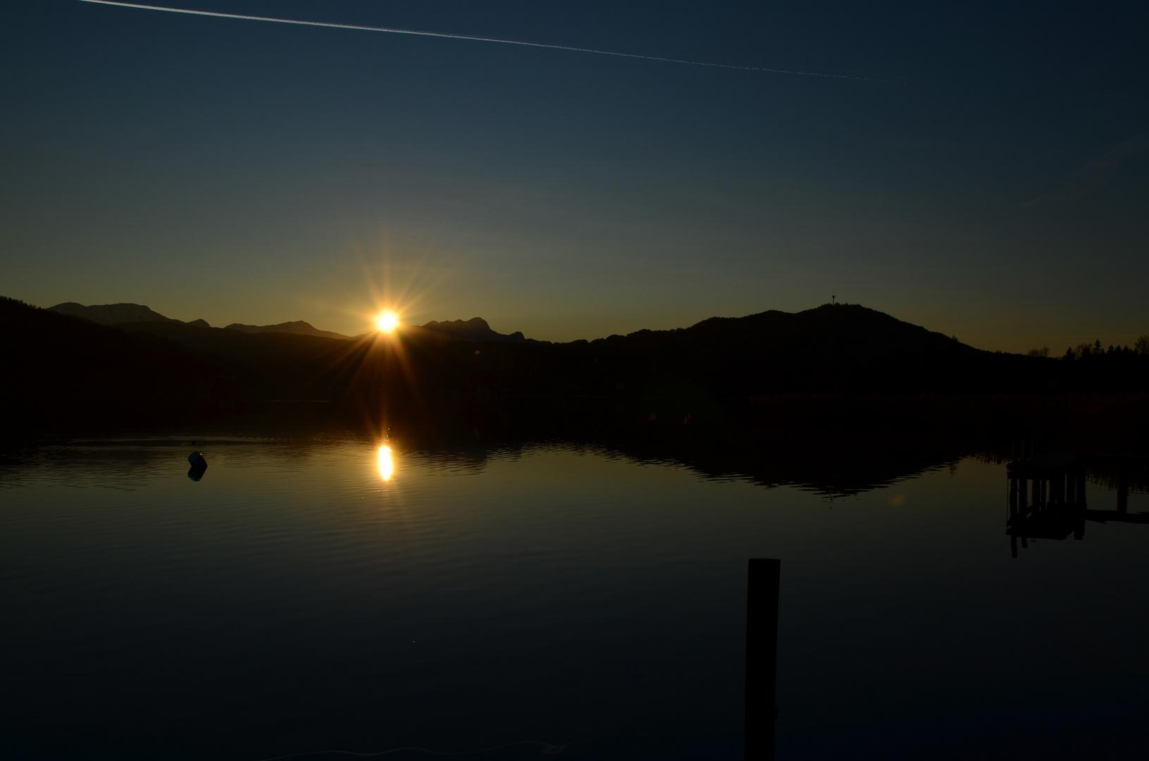 Die letzten Sonnenstrahlen......(11.1.2012)