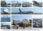 Die letzten Tests des A-380 auf Fraport