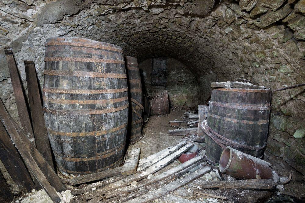 die letzten Weinreserven...