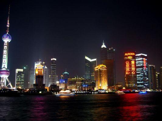 die Lichter des Wachstums und der neuen Macht - Shanghai & China