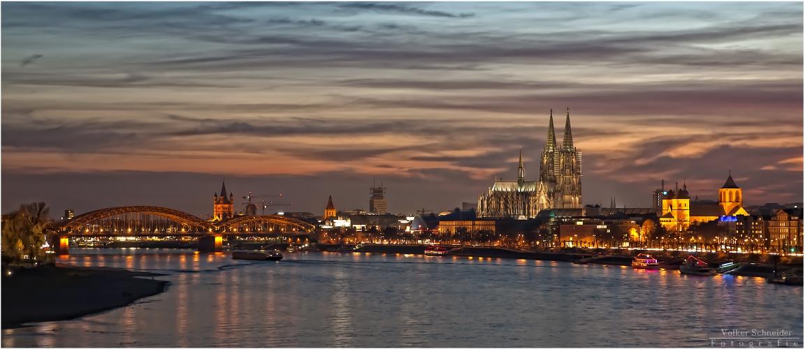 die Lichter von Köln