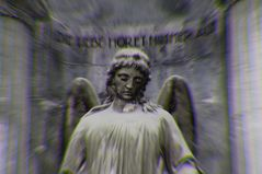 Die Liebe höret nimmer auf- dafür sorgt dieser Engel
