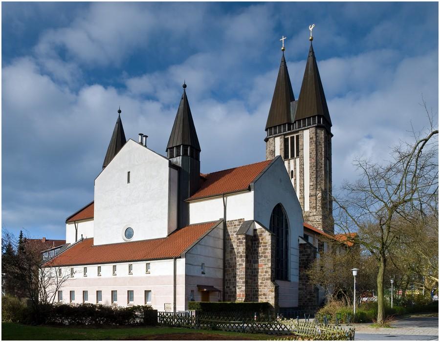 Die Liebfrauenkirche ...