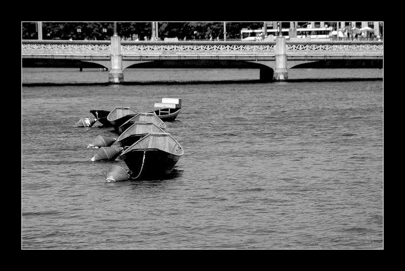 Die Limmat und Ihre Boote