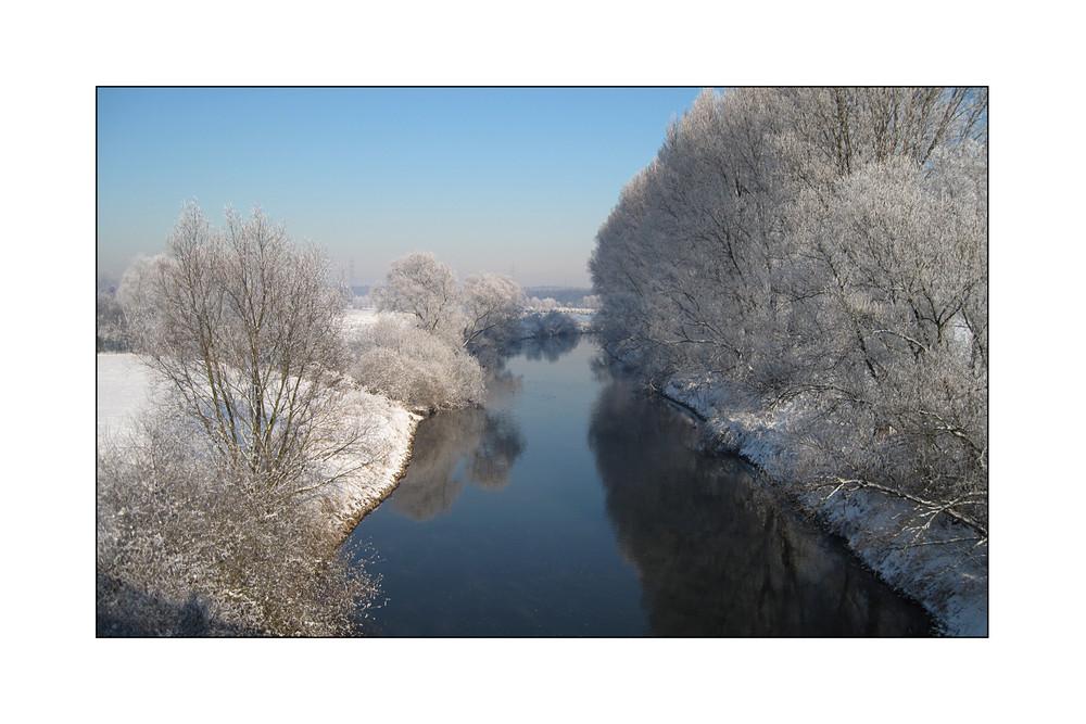 die Lippe bei Krudenburg