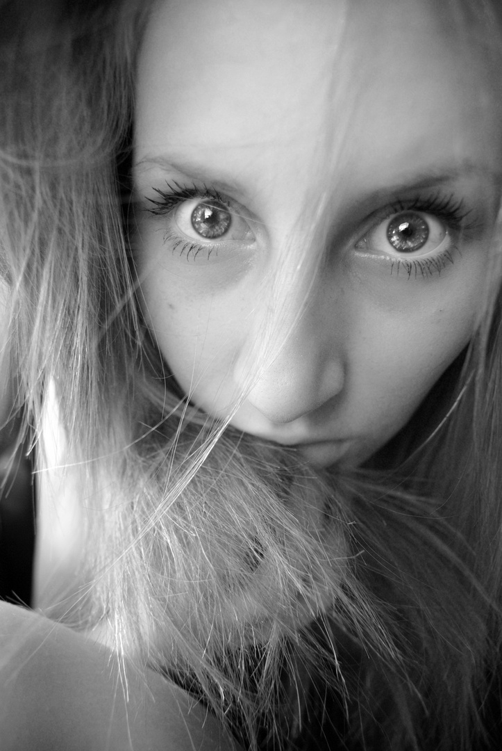 Die lodernden Augen