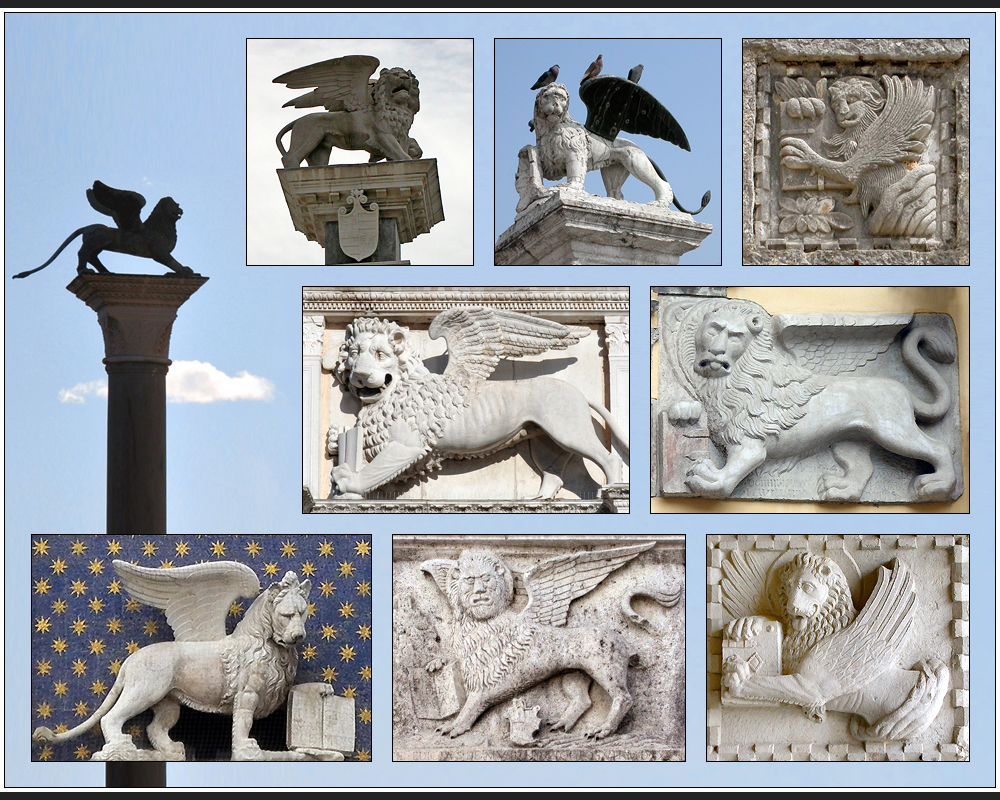Die Löwen der Serenissima
