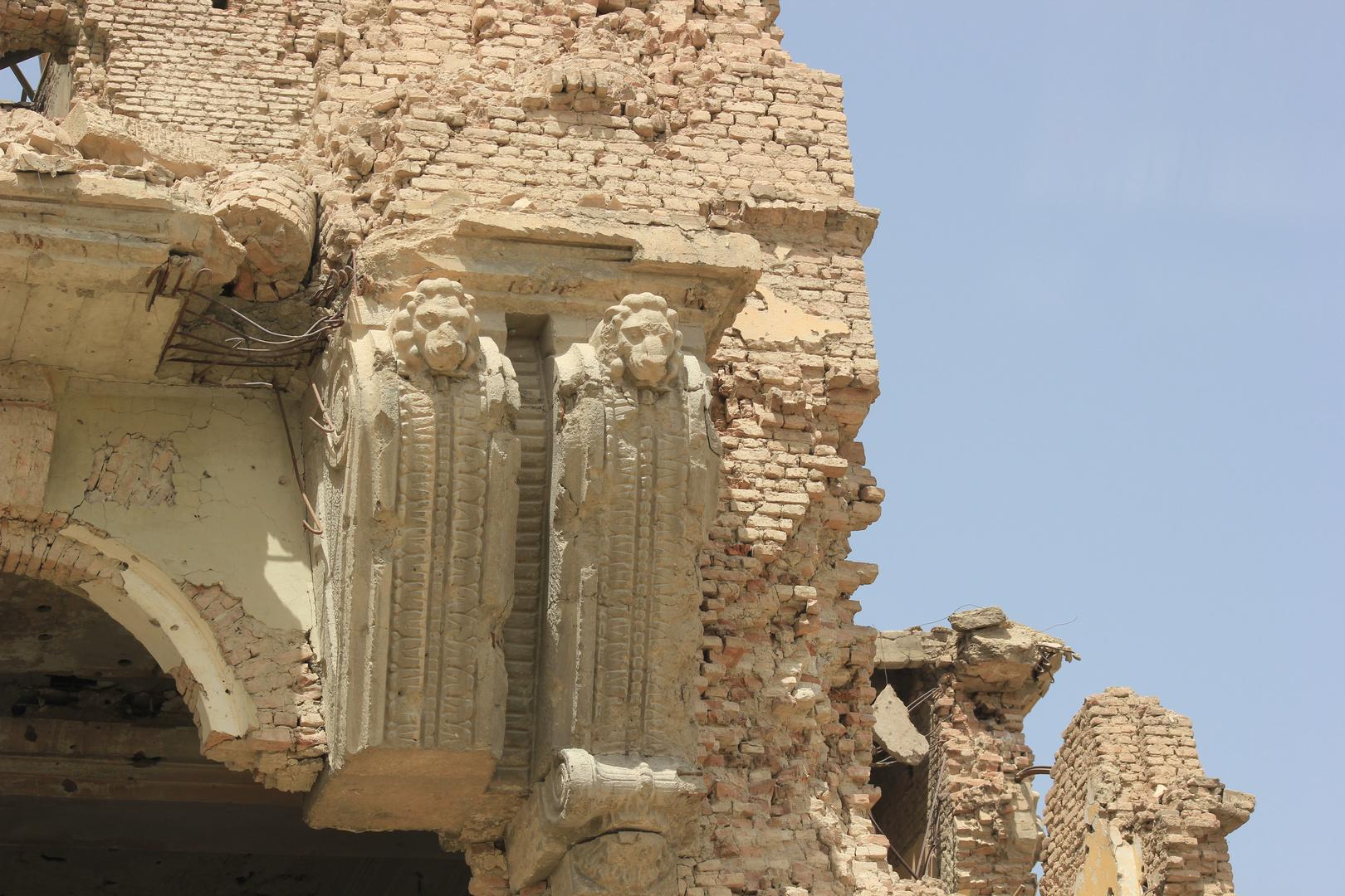 Die Löwen haben überlebt, Darulaman Schloß Kabul