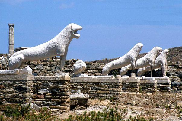 Die Löwen von Delos