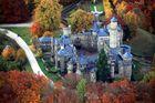 Die Löwenburg im Herbst