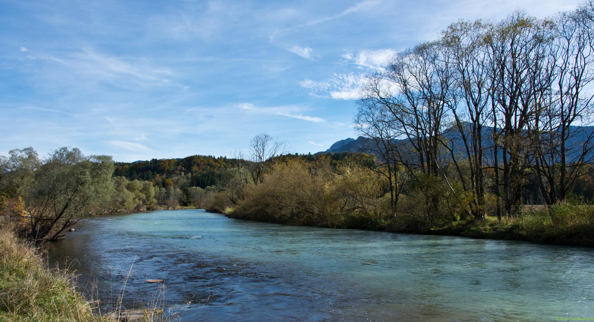 Die Loisach bei Murnau