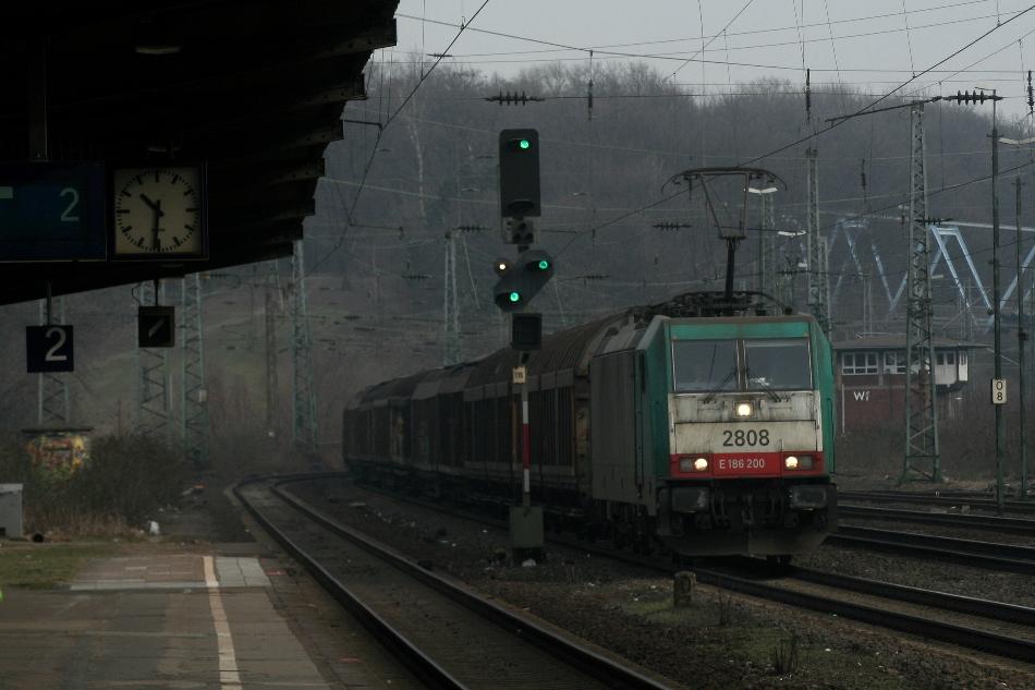 die Lok zumindest fährt für Belgien