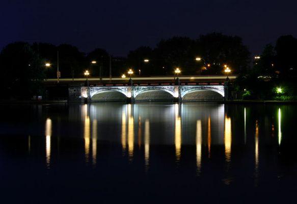 Die Lombardsbrücke