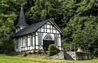 Die Lourdeskapelle bei Volkerode (Eichsfeld)