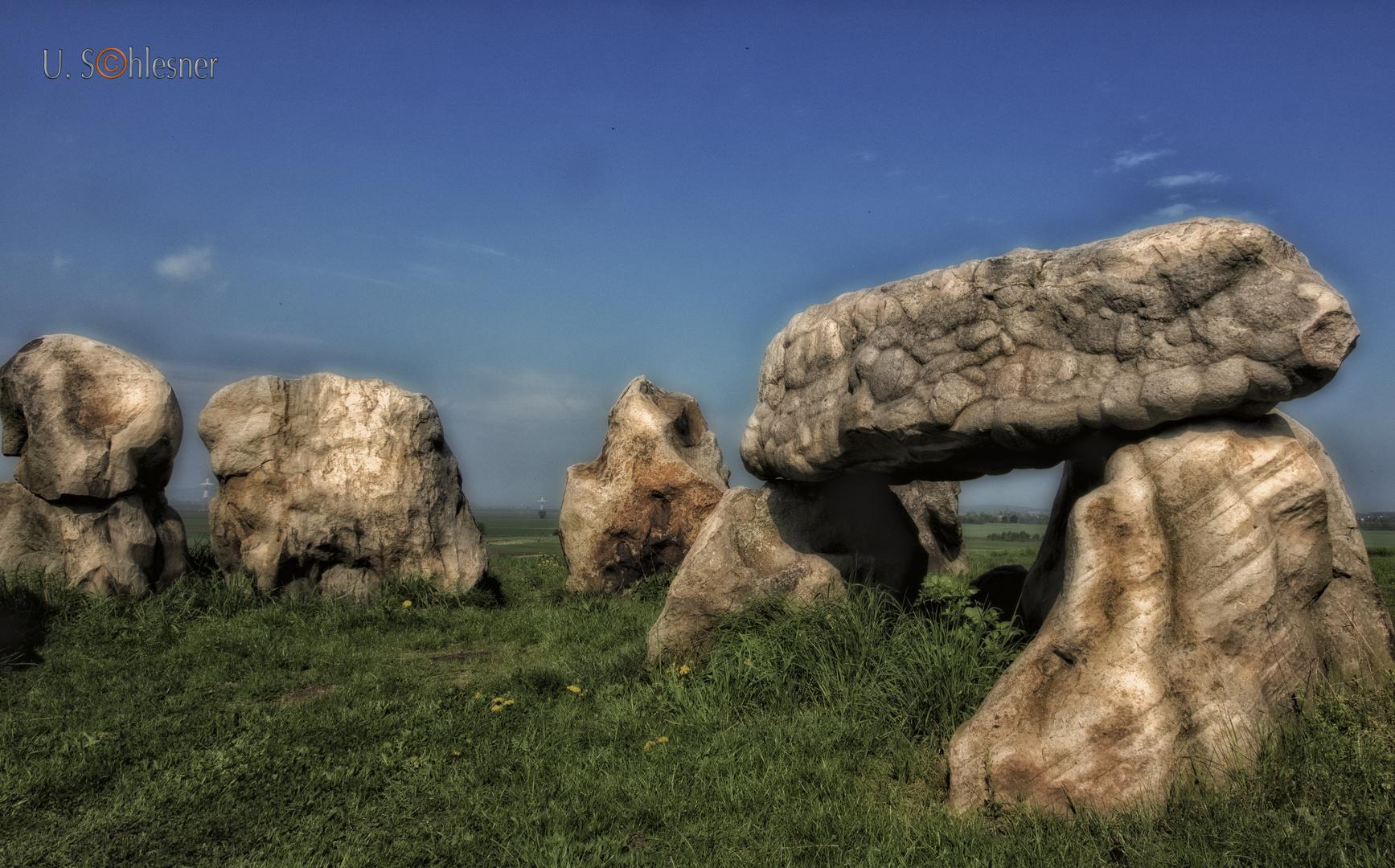 .. die Lübbensteine - eine jungsteinzeitliche Megalithanlage ...