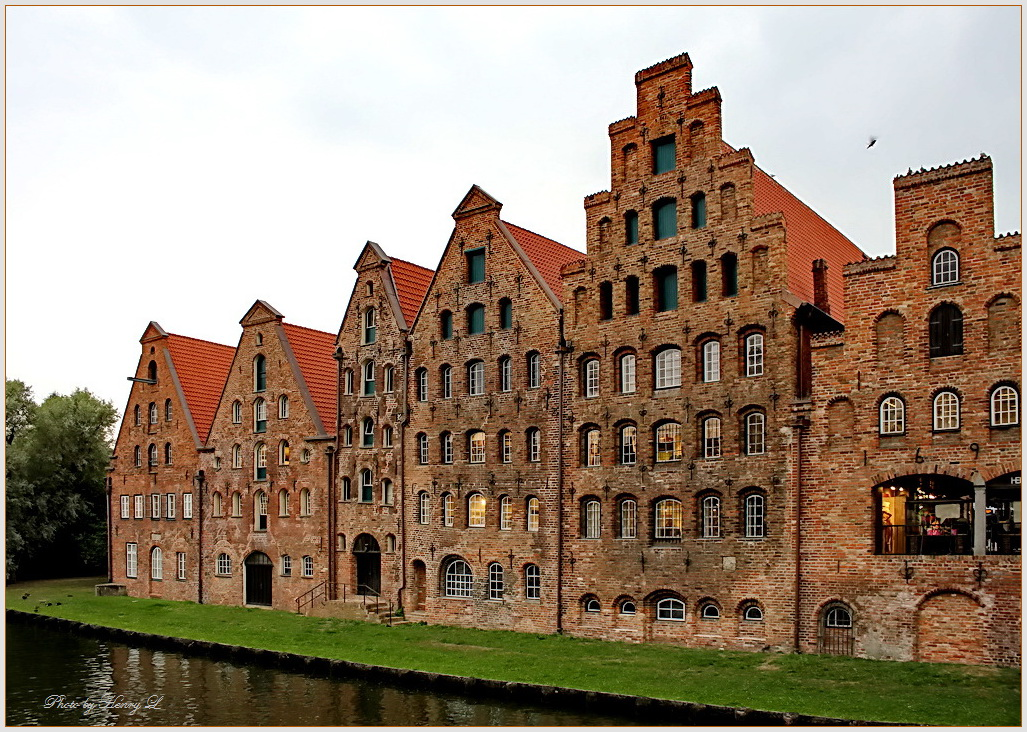 Die Lübecker Salzspeicher