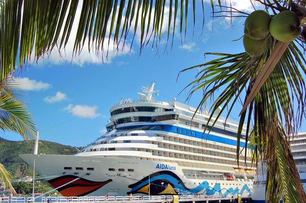 die Luna auf St.Maarten