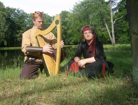 Die Märchenerzählerin und der Harfenspieler...