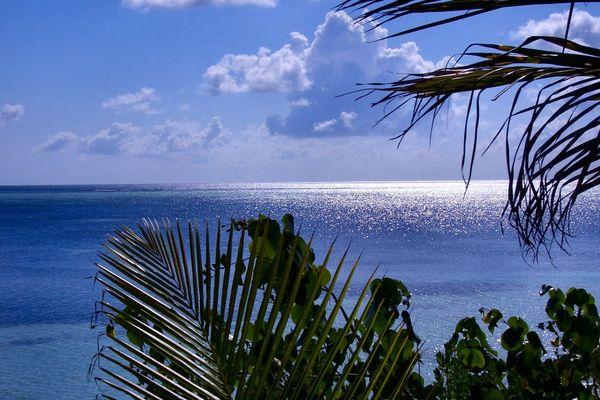 Die Malediven Insel Olhuveli im Süd Male Atoll