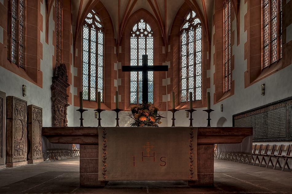 Die Marienkirche in Büdingen 2