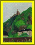 Die Marksburg in Braubach-am-Rhein