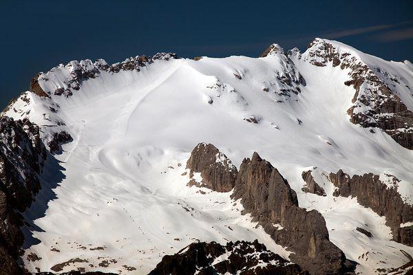 Die Marmolada 3342m