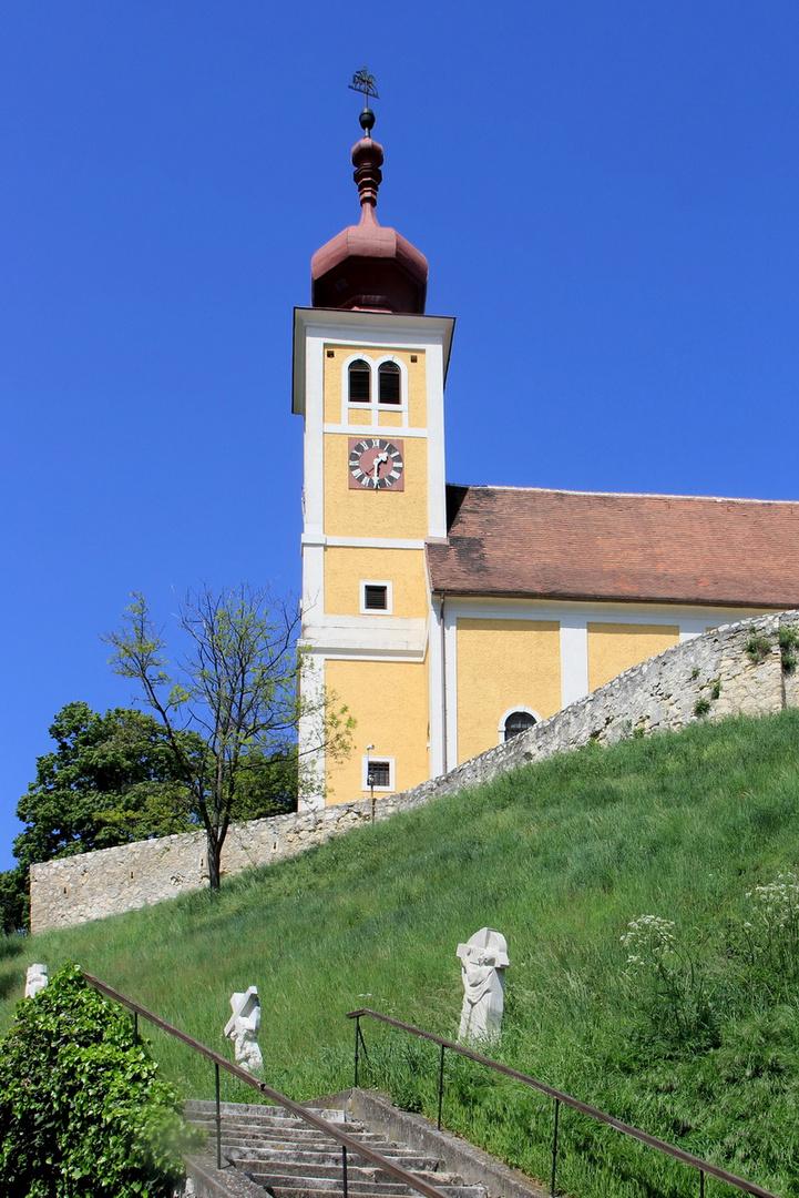 Die Martinskirche in Donnerskirchen, Bgld.