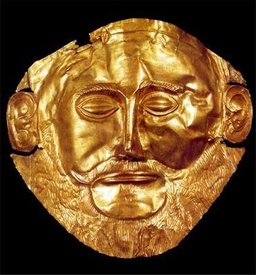 Die Maske des Agamemnon?