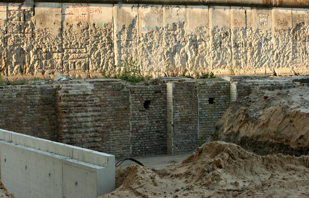 Die Mauer ist weg