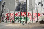 "Die Mauer - ""Merry Christmas from Bethlehem Ghetto"""