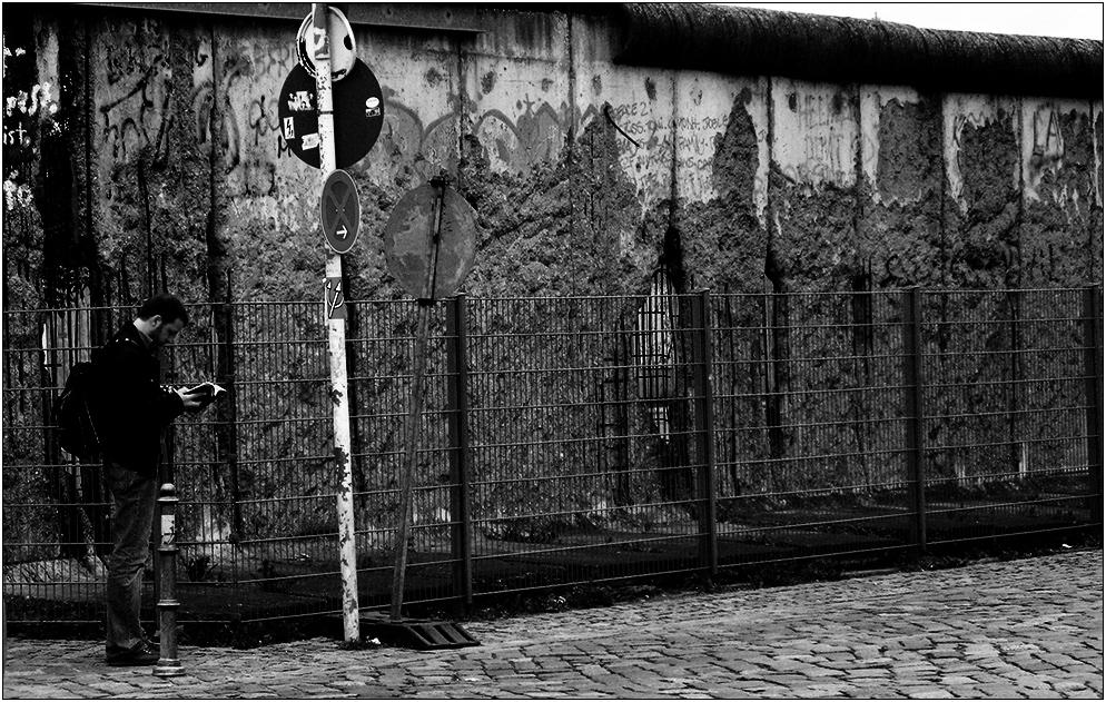 ...die Mauer muss geschützt werden...