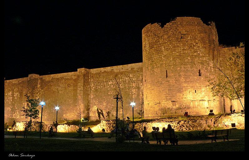 Die Mauer von Diyarbakir