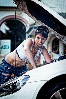 Die Mechanikerin