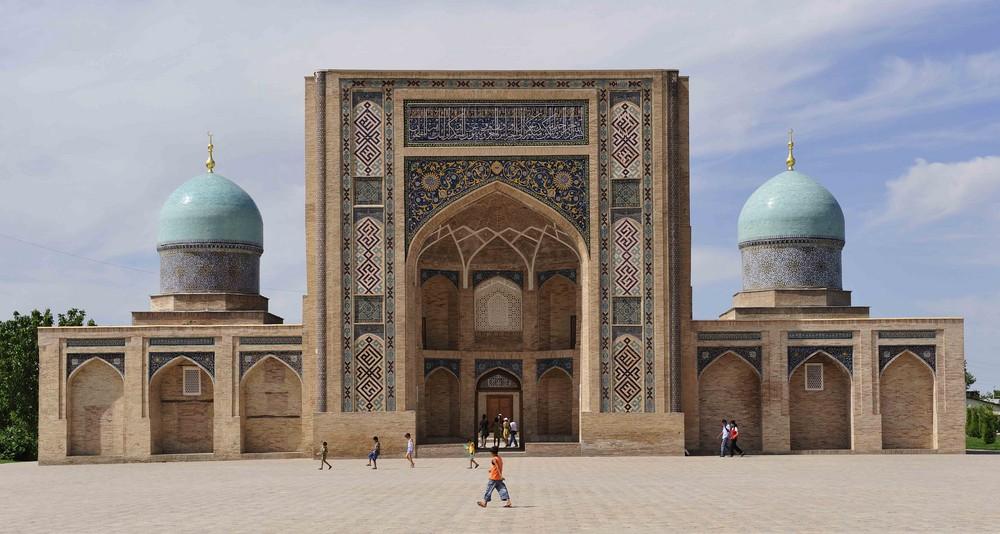 Die Medrese Barak Chan in der Altstadt von Tashkent
