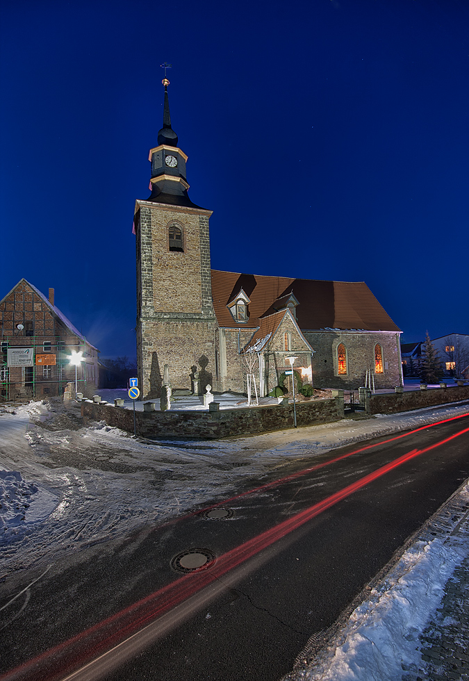 Die Meisdorfer Patronatskirche...