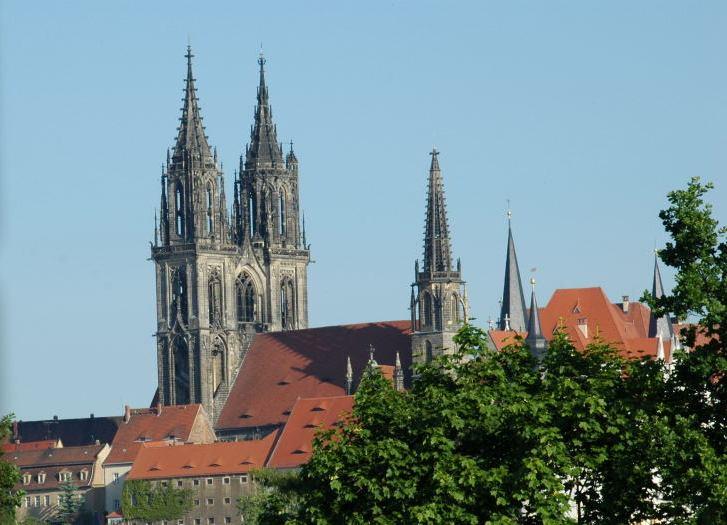 Die Meißner Burg am Tag