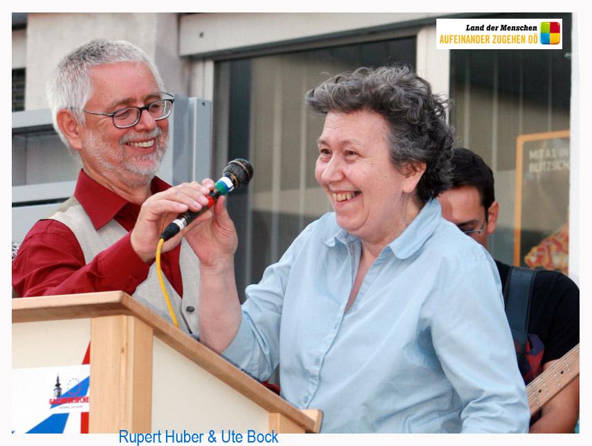 Die Menschenrechtsaktivistin Ute Bock