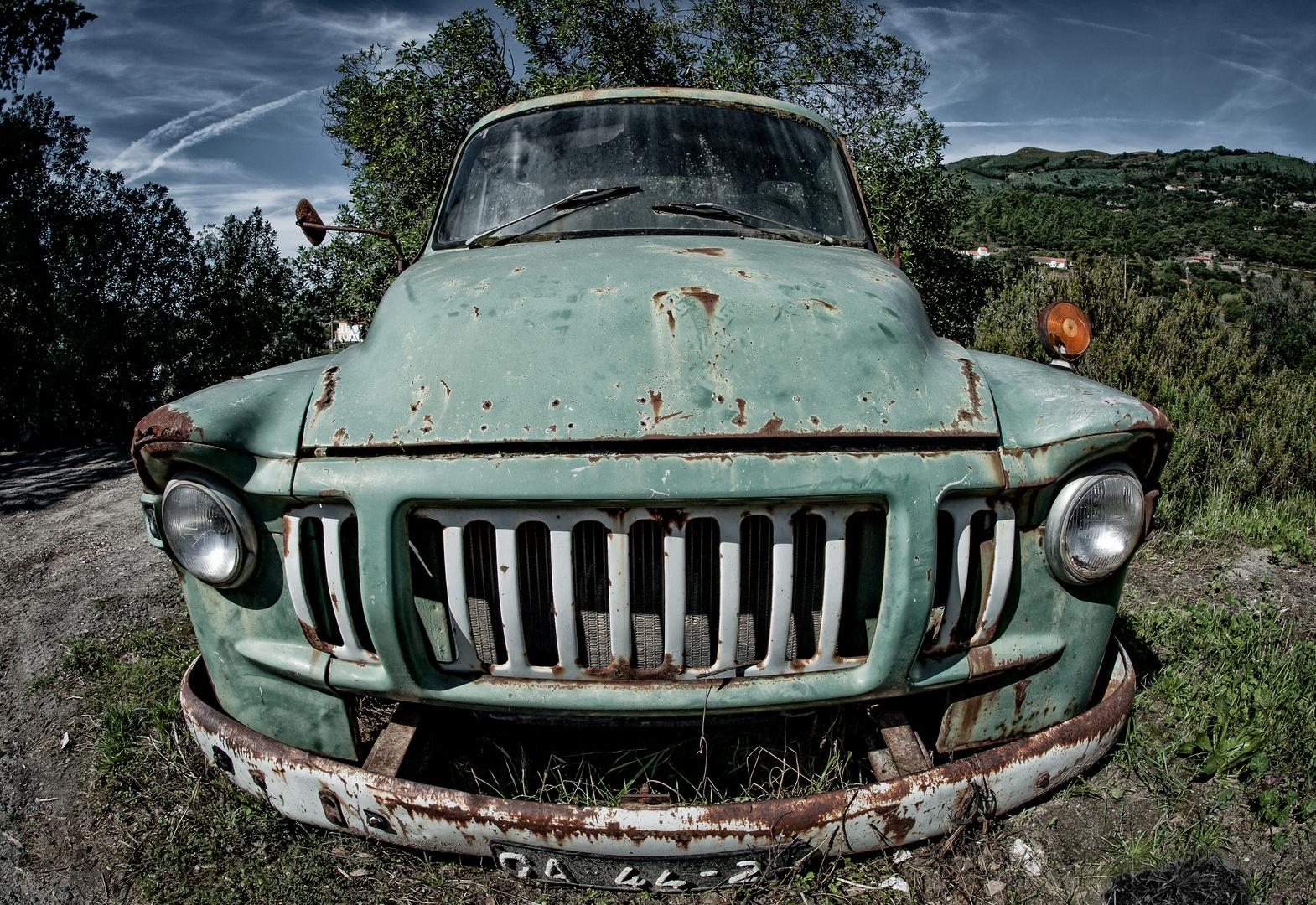 Die Mietwagen sind auch nicht mehr, was sie mal waren........