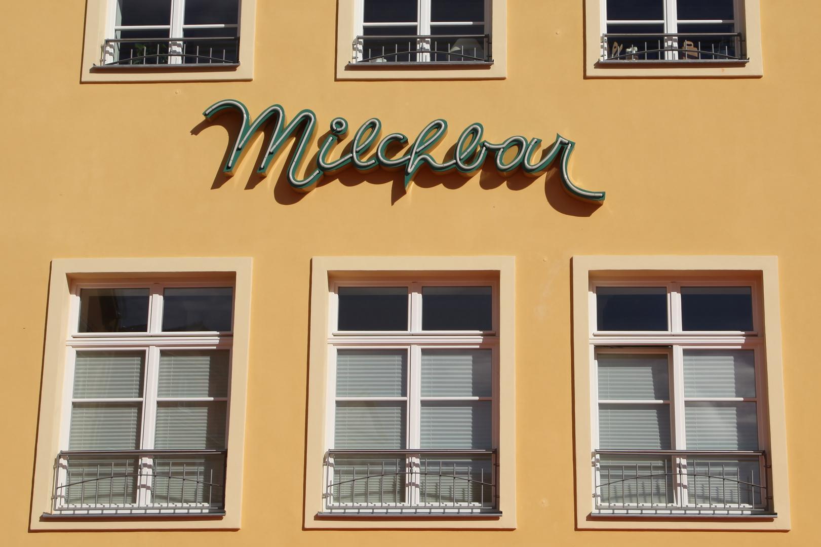 ... die Milchbar in Stralsund 2013 ...