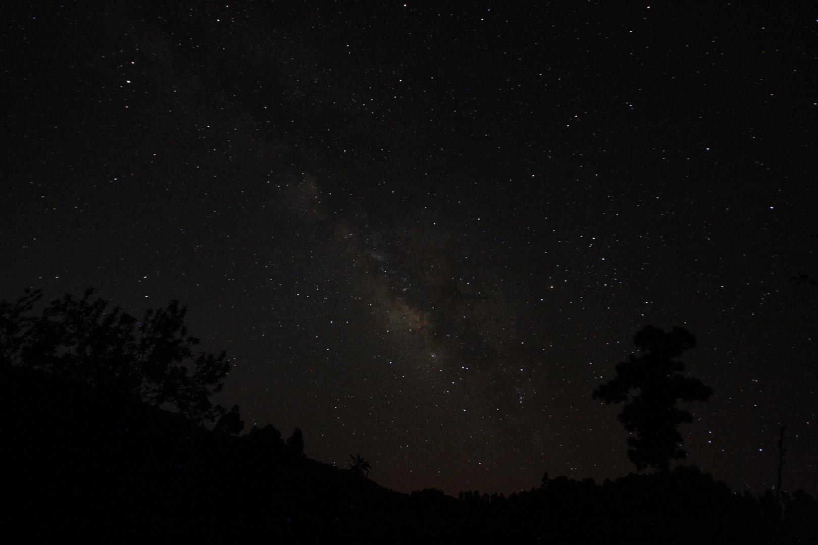 """Die Milchstraße auf """" La Palma """""""