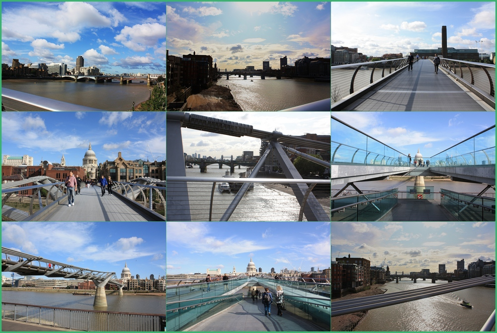 Die Millenium Bridge