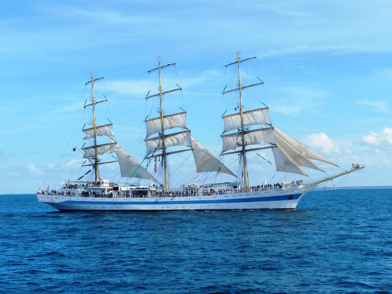 """Die """"Mir"""" - Gast der hanse Sail Rostock 2013"""
