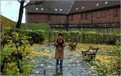 ... die mittelalterliche Burganlage Akershus ...